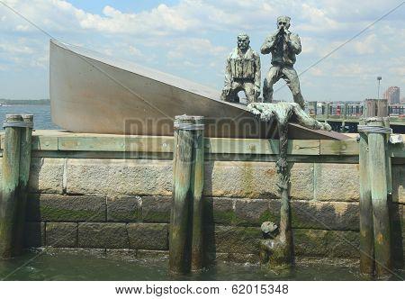 American Merchant Marines' Monument  in Lower Manhattan