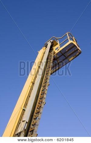 Mobile Crane Arm Yellow