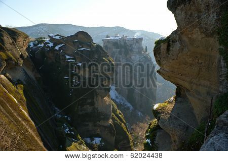 The Monastery Of Great Meteora