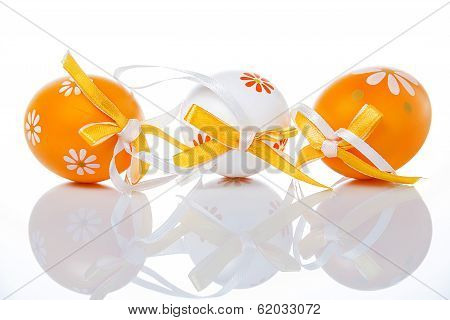 Orange Easter Egg