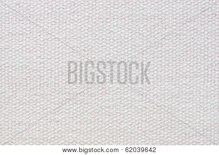 Pale Pink Coarse-grained Texture Of Rough Fabric