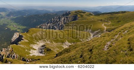 Path On Schneeberg Hill
