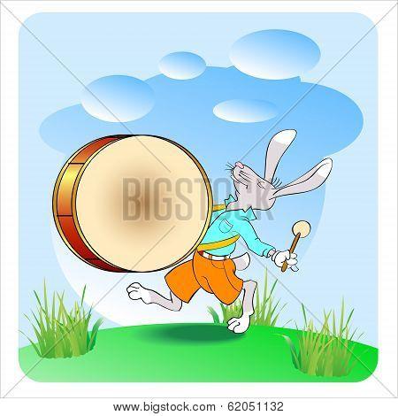 Rabbit Drummer