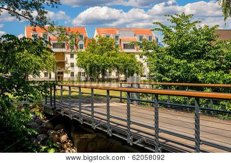 Residential District. Norrkoping, Sweden