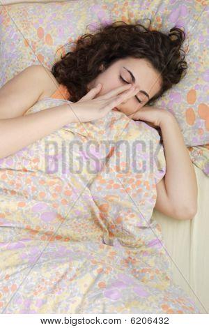 Beautiful Teenage Girl Awakening