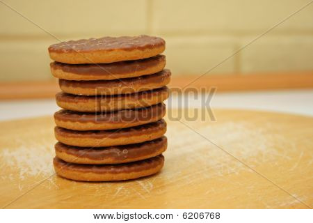 biscuit pile.