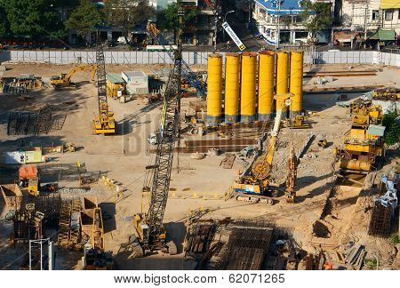 Construction Project,ho Chi Minh, Vietnam