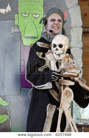 Actor at Halloween Festival