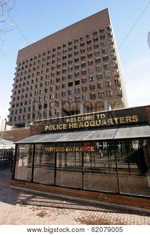 NEW YOURK - DEC 27: New York City Police Headquarters in lower Manhattan, New York City, on Sunday, December 27, 2009.