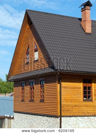 House Log Wall