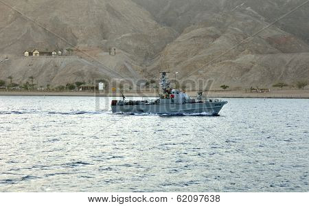 Peacekeeper on the Red Sea