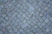 Gray Paving Stones As Background