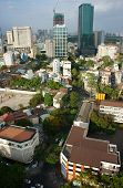 Ho Chi Minh City, Vietnam,overview On Day