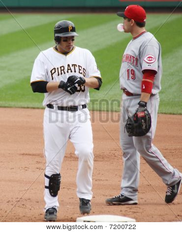 Pittsburgh Pirates Luis Cruz returns to first base