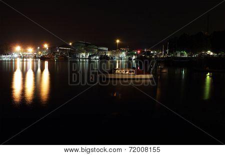 Boatyard In Arona