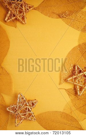 Gilded Leaves And Stars