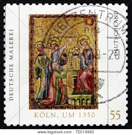 Postage Stamp Germany 2005 Adoration Of The Magi
