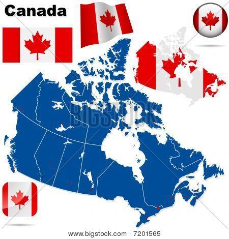 Canada vector set