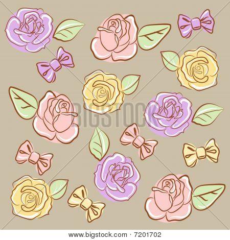 Bows'n' rosas
