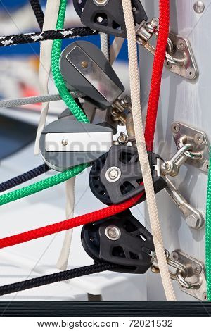 Winches And Ropes, Yacht Details