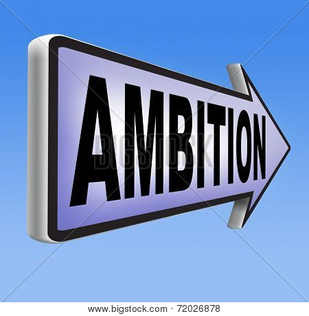 ambition think big dreams in personal and career reach your goals
