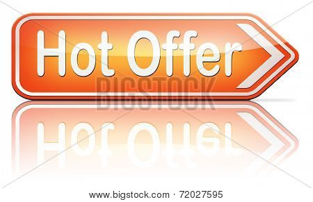 hot offer  or sign for online internet web shop. Webshop shopping sales  announcing bargain for low and best price with the best value for you money.