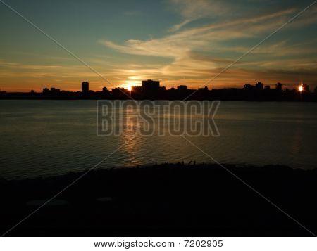 Sunset Over Halifax