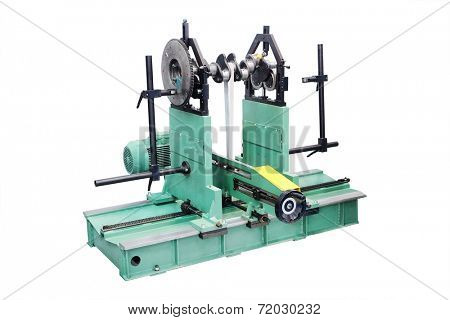 the image of an apparatus for repair of crankshaft