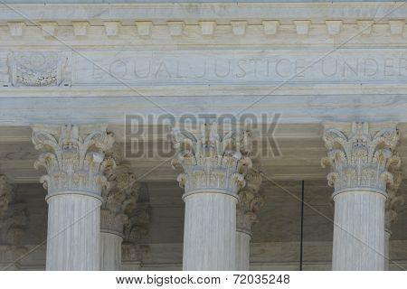 Washington DC -Supreme Court Building architectural details
