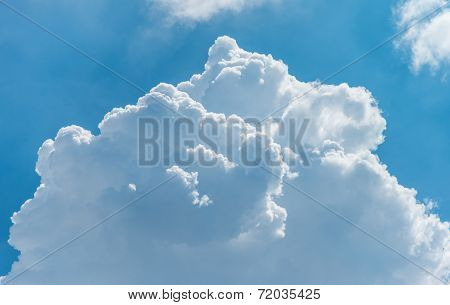 Big Fluffy  Beautiful Cloud