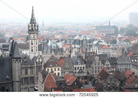View of Ghent, Belgium