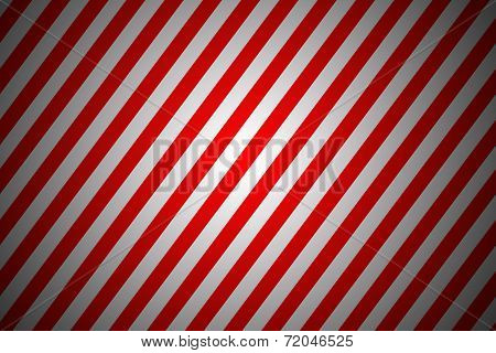 Red And White Diagonal Lines