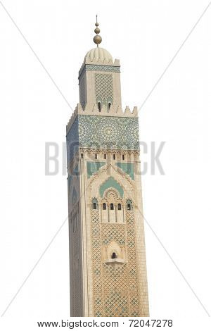 The hassan ii mosque in casablanca;morocco