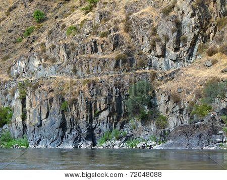 Cliffs of the Salmon River