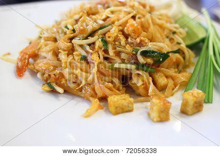 Thai Food, Pad Thai, Thai Style Noodles