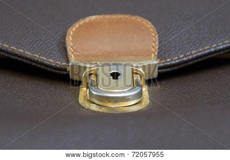 worn briefcase lock