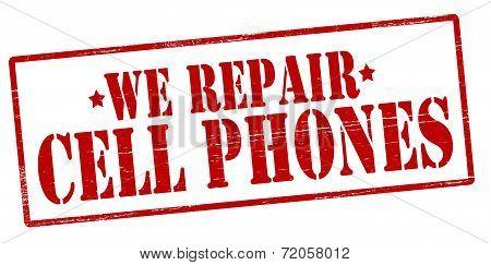 We Repairs Cell Phones