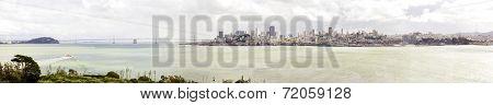 San Francisco Skyline Panorama, California