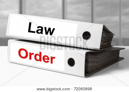 Office Binders Law Order