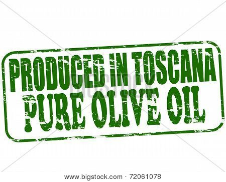 Produced In Toscana