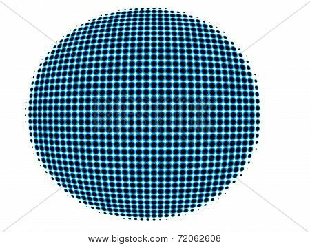 spotted spherical globe conceptual isolated