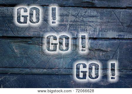 Go Go Go Concept