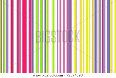 Fluorescent Colors Vertical Striped Background