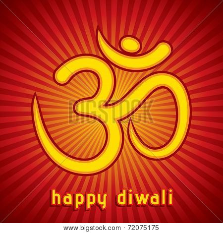 creative diwali festival greeting card background vector