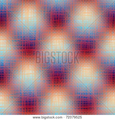Transparency texture on plaid background
