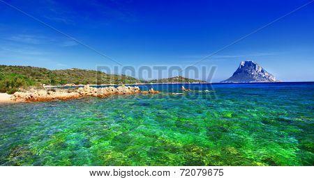 Sardinia island, cala Dorata (porto Taverna) Italy