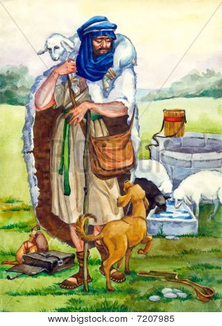 Ancient Israel. Shepherd