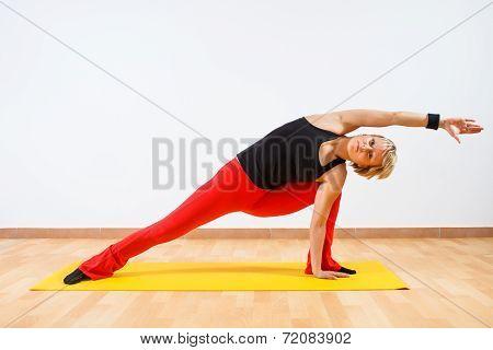 Yoga-Vasisthasana/Half side plank pose