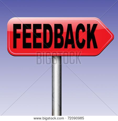 feedback, leave a comment and rate product or service. Survey for customer satisfaction. Write testimonial