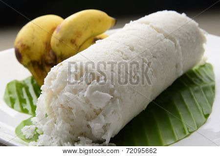 White Rice Puttu
